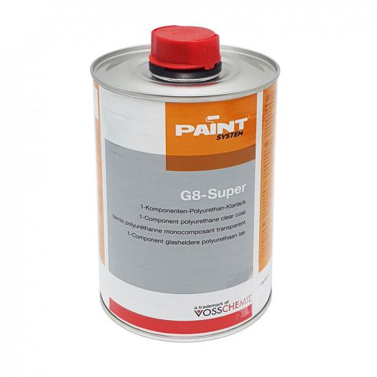 G8 Super - Strat transparent UV