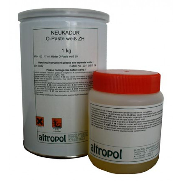 Gel Coat-OPaste White - KIT 1.17Kg